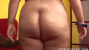 Swarthy lad-ally is satisfying his raunchy chubby girlfriend on web camera
