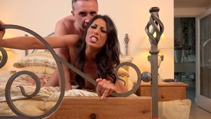 Stunning Makayla Cox screwed in a from behind in HD video
