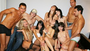 Real college sex is wild and reckless, u can watch that in this student party sex episode scene with beautiful juvenile drunk chicks. Let me tell u how it started and what happened there. Really, it was supposed to be an solely gals party. Sexy college ch